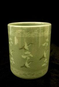 韓國青瓷筆筒 陶瓷 | JCR Collections