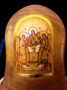 宗教主題的俄羅斯套娃 - 第二層圖像放大 俄羅斯套娃 (2) | JCR Collections