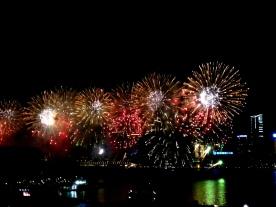 香港2014年農曆新年煙花匯演