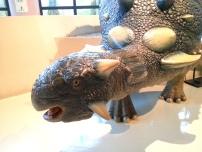 恐龍廳-真板頭龍 (Euoplocephalus)