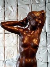 富貴三義館-許維忠之銅雕 〝 佇立〞