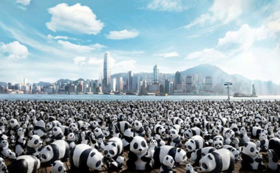1600 Pandas World Tour in Hong Kong