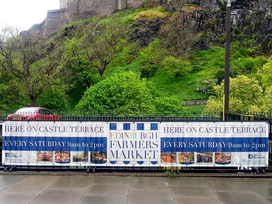愛丁堡之旅 (4) – Farmers' Market at Castle Terrace & Grassmarket