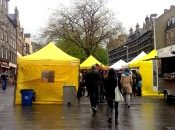 愛丁堡之旅 (4) – Farmers' Market at Castle Terrace & Grassmarket